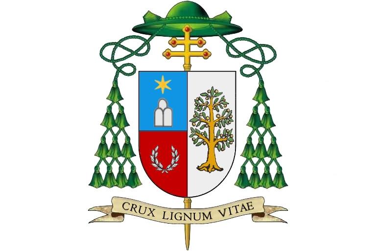 Škofovski grb msgr. Mitja Leskovarja