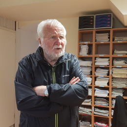 Dr. Hubert Požarnik (photo: Tanja Dominko)