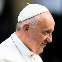 Papež Frančišek (photo: Michael Ehrmann / Cathopic)