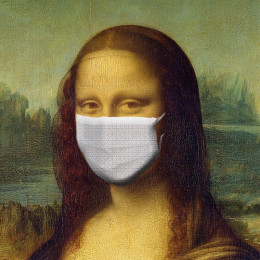 Monalisa z masko (photo: Pixabay)