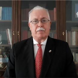 Jure Komar, predsednik Zedinjene Slovenije (photo: Svobodna Slovenija, Argentina)