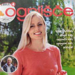 Naslovnica revije Ognjšče, april 2021 (photo: ARO)