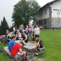 Udeleženci lanskega Mariapolija na Ribniški koči (photo: Marjana Debevec)