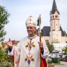 Novomeški škof Andrej Saje (photo: Rok Mihevc)