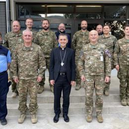 Srečanje škofa Sajeta z vojaškim in policijskim vikariatom (photo: Škofija Novo mesto)