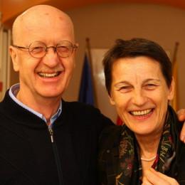 Andrej in Verena Perko (photo: Izidor Šček)