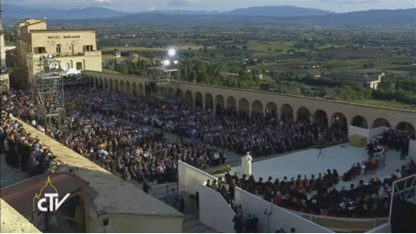 molitev za mir - Assisi (photo: Radio Vatikan)