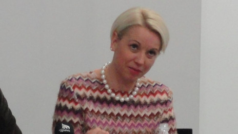 Dr. Angelika Mlinar (photo: Matjaž Merljak)