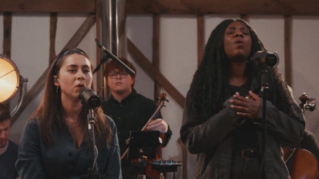 Lucy Grimble (feat. Bianca Rose) - live at Burgess Barn (photo: Youtube)
