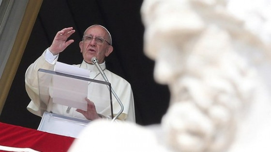 Angelus, papež Frančišek (photo: Radio Vatikan/Reuters)