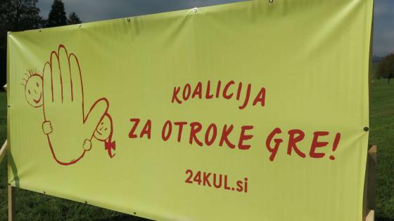 Koalicija Za otroke gre (photo: STA)