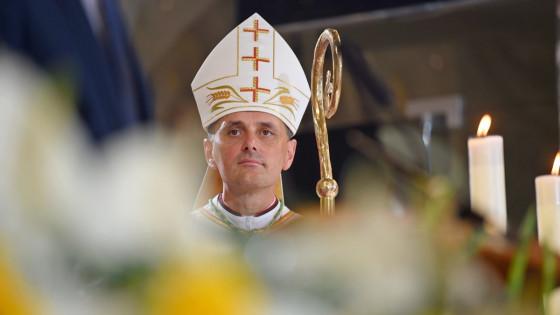 Novomeški škof dr. Andrej Saje (photo: Rok Mihevc)