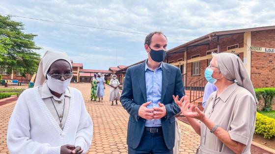 Minister Anže Logar v Kigaliju (photo: Karitas)