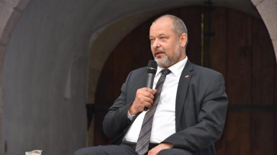 Predsednik državnega sveta Alojzu Kovšca (photo: Posavski obzornik)